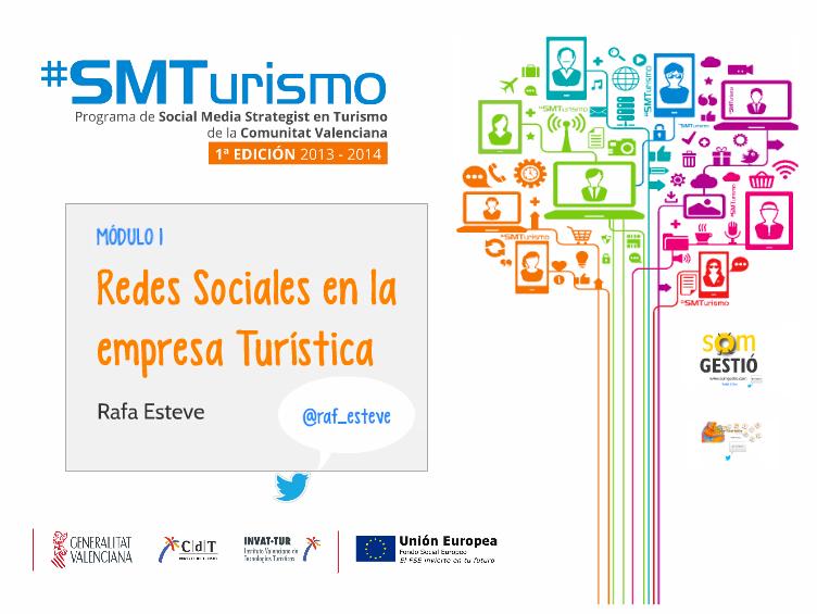 Módulo 1 – Redes Sociales en empresas Turísicas #SmTurismo
