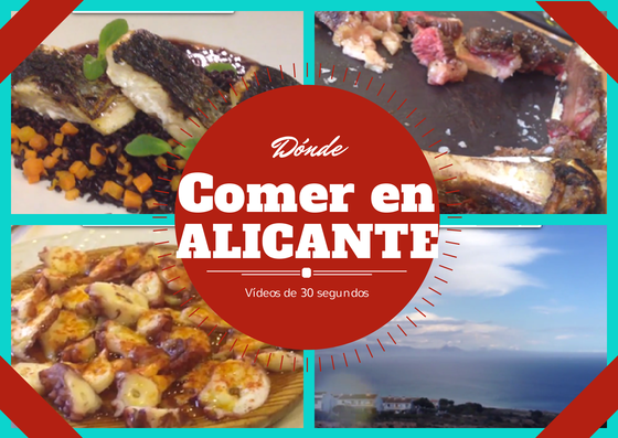 Donde comer en Alicante. Where to eat in Alicante