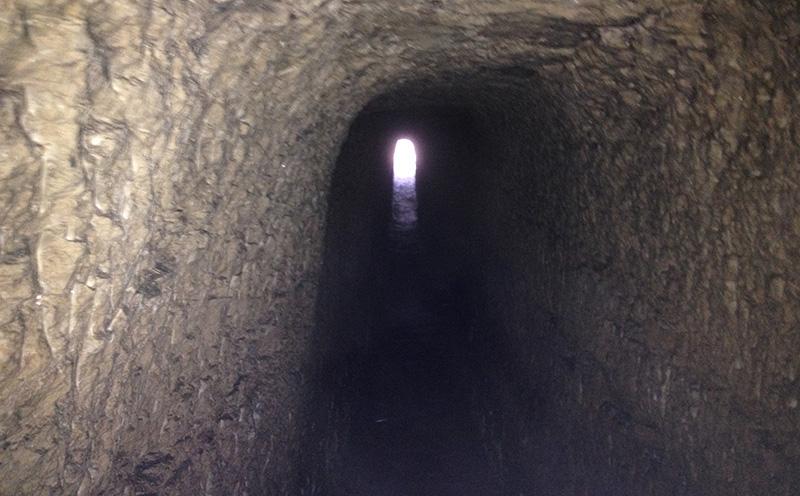 Interior de la Galería subterránea.