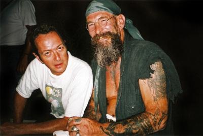 Joe Strummer junto a Jo Bel, la pareja que hizo mítico este bar.