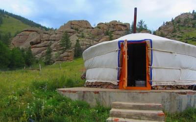Mongolia: Una noche en Yurta