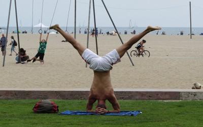 Los Ángeles: Cuando en la playa de Santa Mónica no brilla el sol