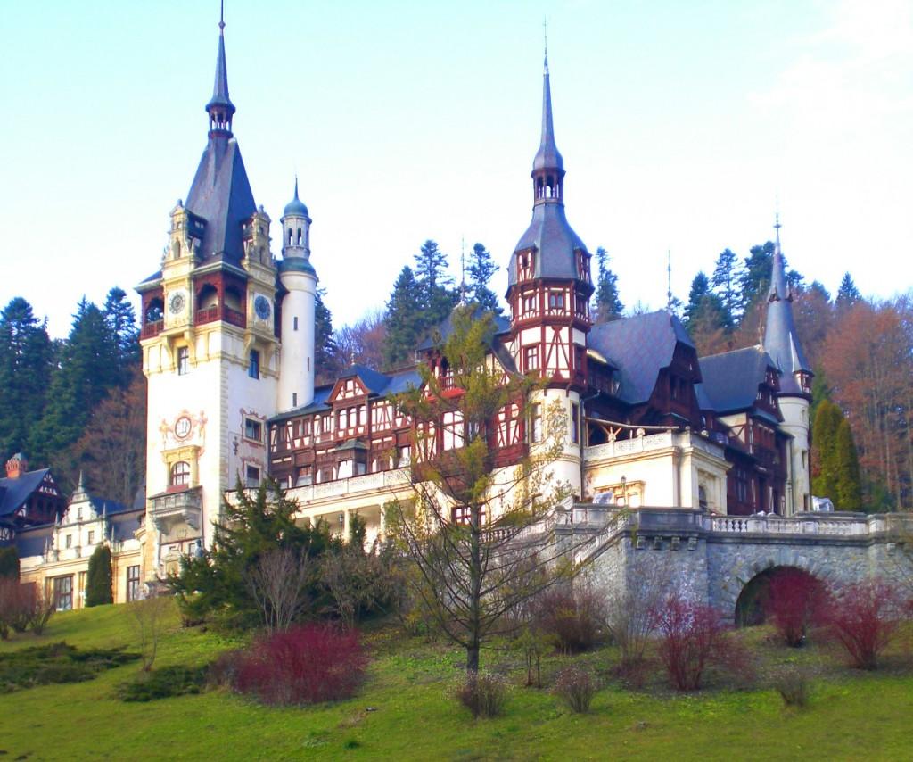 Castillo de Peles en Sinaia, Rumanía.