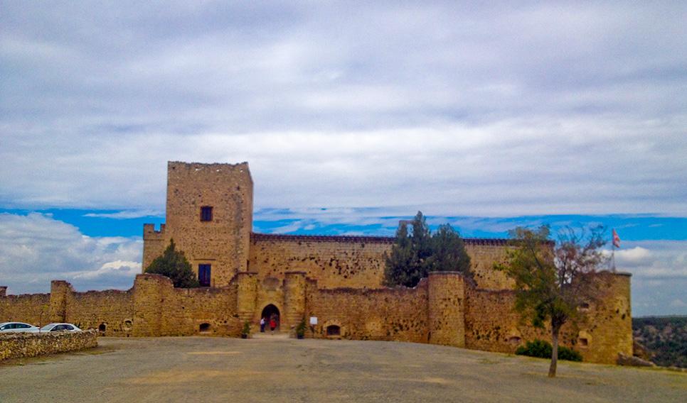 El Castillo de Pedraza, en Segovia.