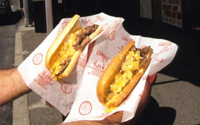 El Philly Cheesesteak de Philadelphia