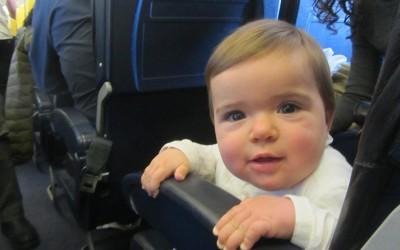 París en invierno con un bebé