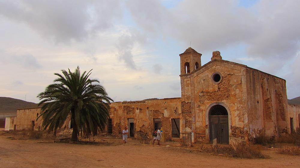 El Cortijo del Fraile de Níjar-Cabo de Gata fue el escenario de 'El bueno el feo y el malo' y 'La muerte tenía un precio'.