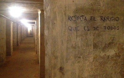 Visita a los refugios de la Guerra Civil en Alicante