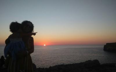 La mejor puesta de sol en Menorca