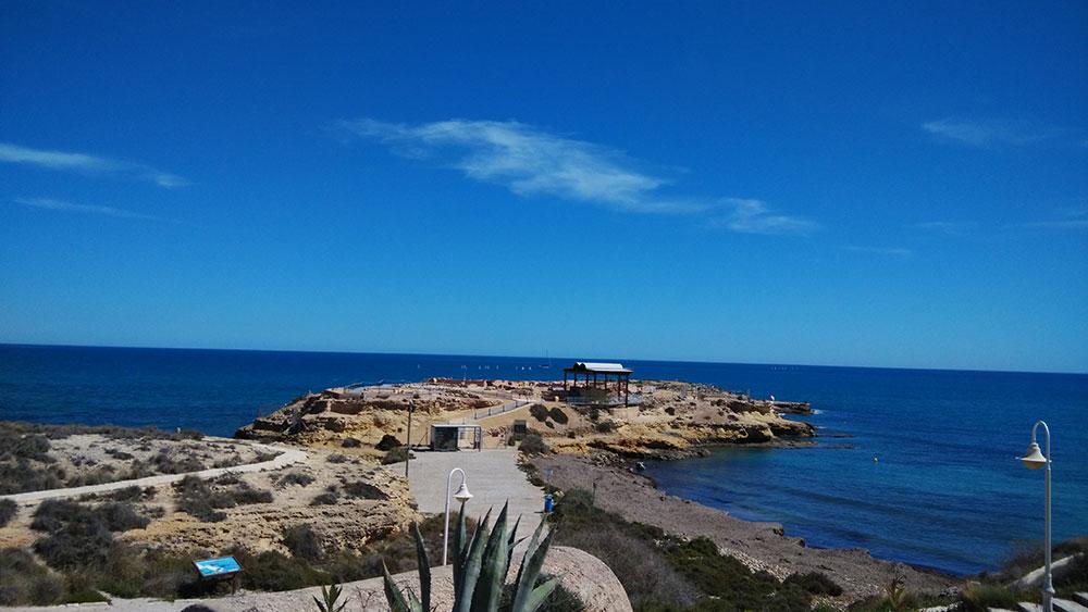 El yacimiento de la Illeta dels Banyets en El Campello (Alicante).