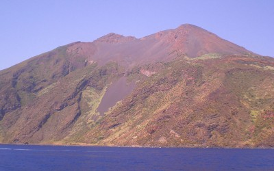 Visita al volcán de Sicilia, Stromboli