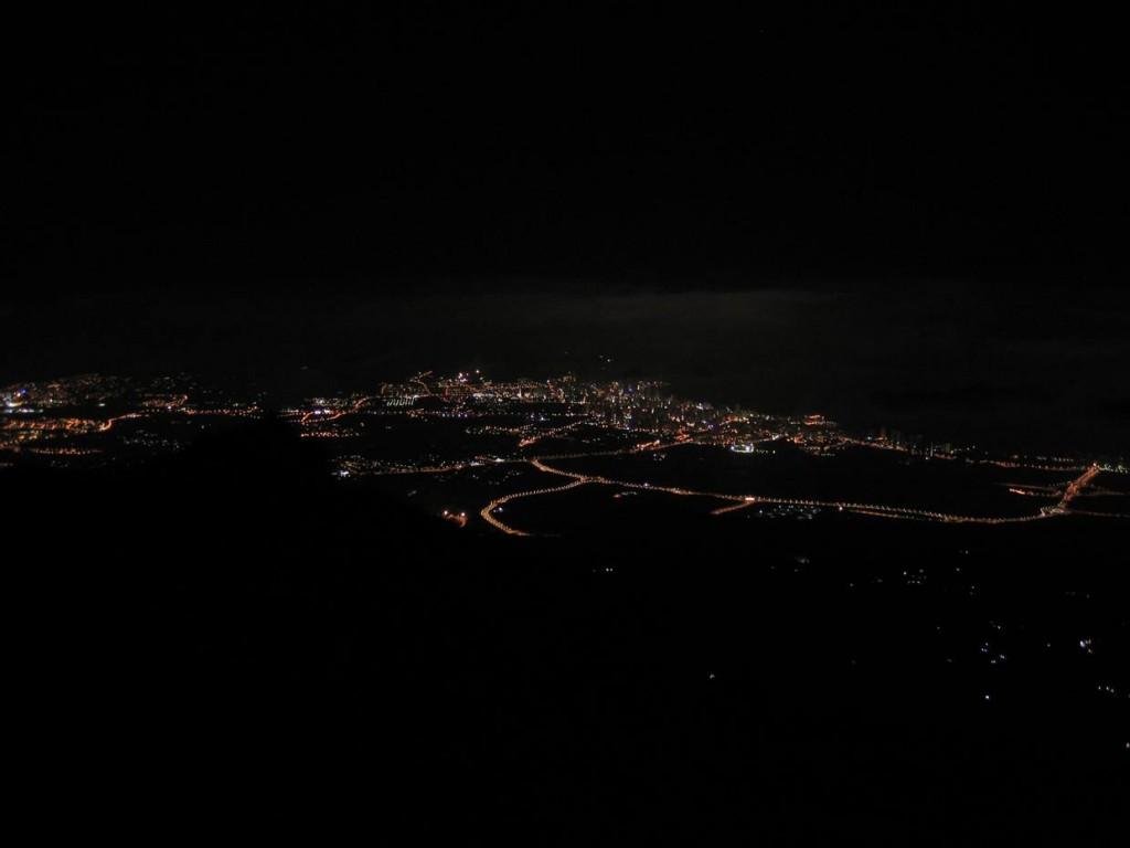 Vista de Benidorm desde Puig Campana