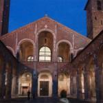 Basílica de San Ambrosio en Milán.