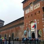 Castello Sforzesco en Milán.