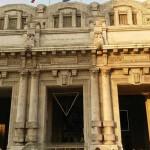 La estación Centrale de Milán.