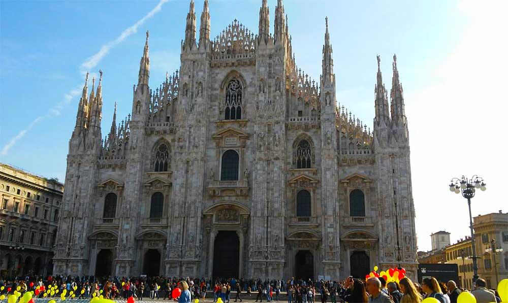 La Piazza del Duomo de Milán.