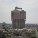 Torre Velasca en Milan. Foto de Leandro Neuman.