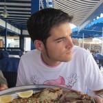 Restaurante en El Golfo, Lanzarote.