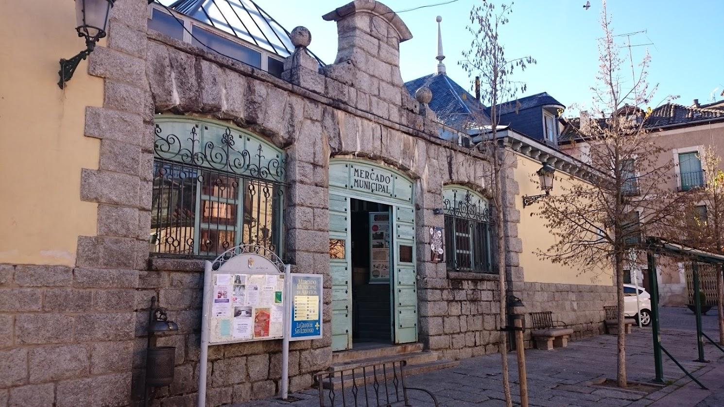 Mercado del Real Sitio de La Granja de San Ildefonso, en Segovia.
