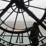 Interior del Reloj en el Museo de Orsay en París.