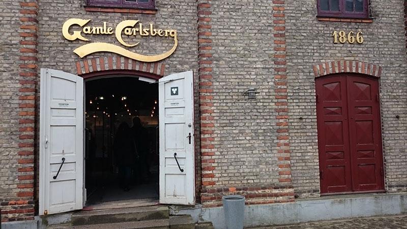 Fábrica original de Carlsberg en Copenhague.
