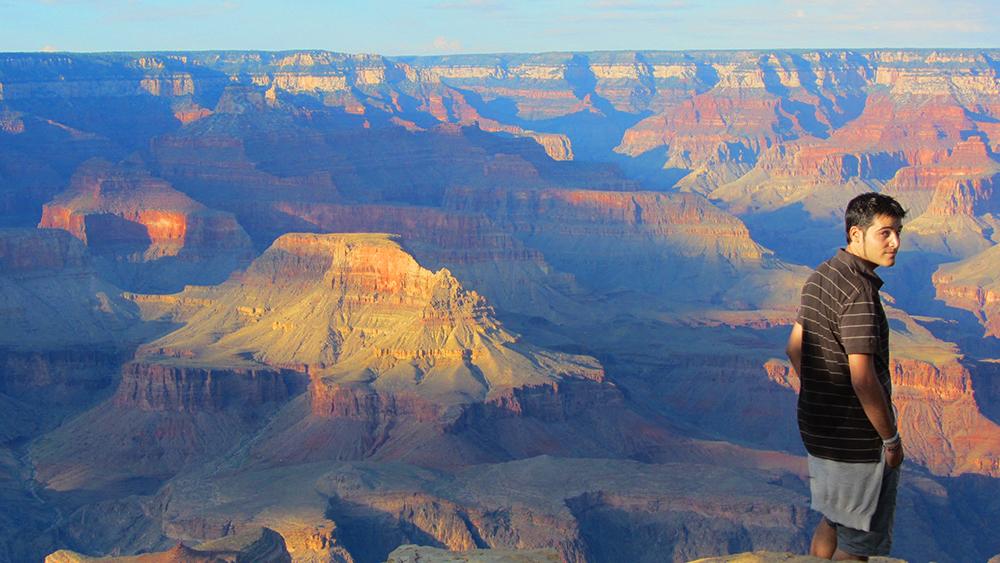 Gran Cañón del Colorado desde la vertiente sur.