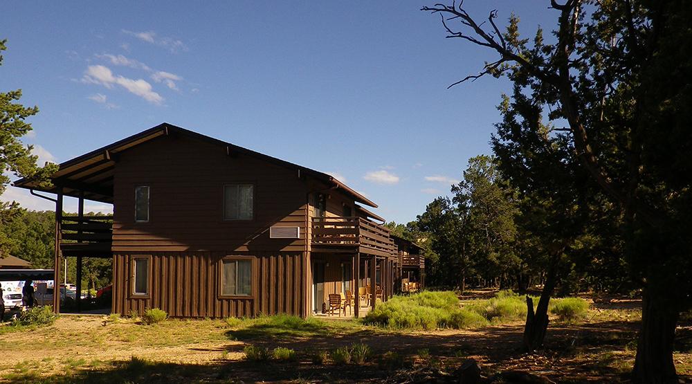 Maswik Lodge, en el Gran Cañón del Colorado.