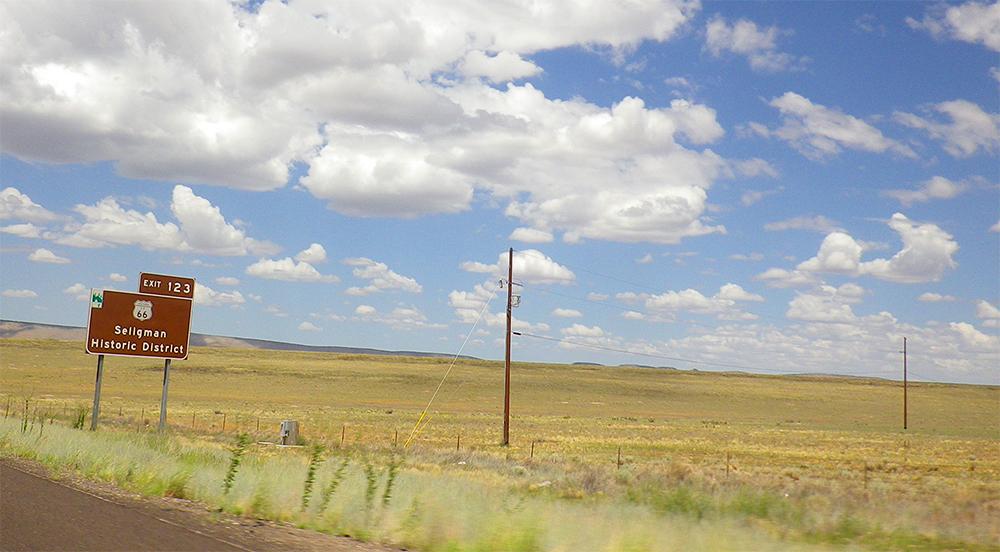 De Las Vegas al Gran Cañón por la ruta 66.